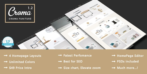 Croma - Responsive Prestashop 1.7 Theme - PrestaShop eCommerce