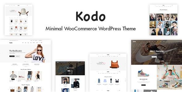 Kodo - Minimal Responsive WooCommerce Theme - WooCommerce eCommerce