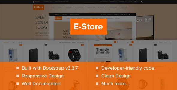 E-Store Responsive Electronics Template