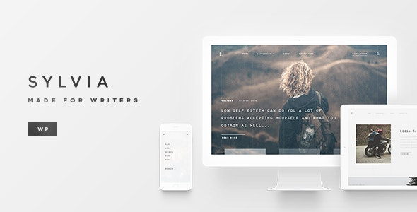 Sylvia - WordPress Magazine/Blog Theme - Blog / Magazine WordPress