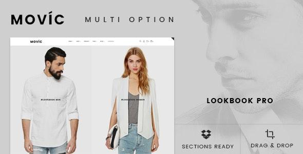 Movíc - Clothing and Fashion Shopify Theme - Shopify eCommerce
