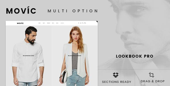 Movíc - Clothing and Fashion Shopify Theme