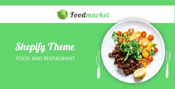 Foodmarket - Responsive Shopify Theme - Health & Beauty Shopify