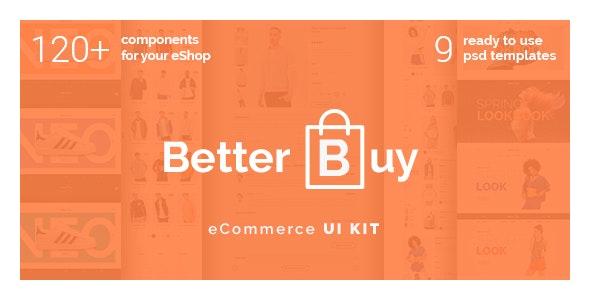 Better Buy - Photoshop UI Templates