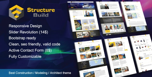 Structure Build - Responsive Construction, Renovation HTML5 Template - Site Templates
