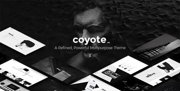 Coyote - Multipurpose WordPress Theme - Creative WordPress