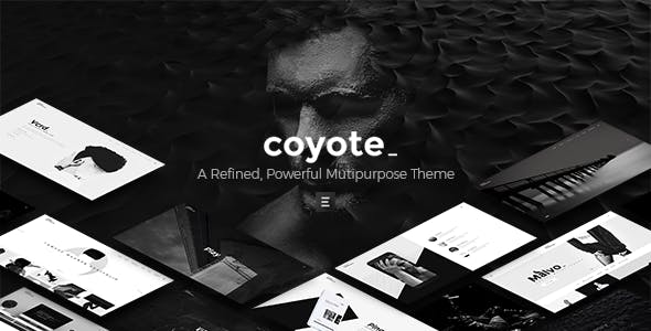 Coyote - Multipurpose WordPress Theme