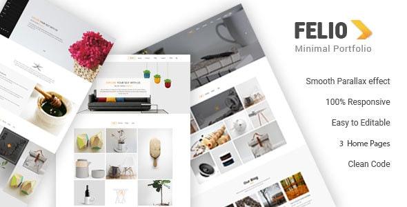 Felio - Portfolio HTML Template - Portfolio Creative
