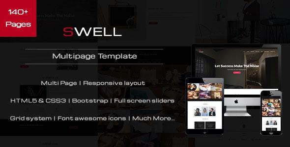 Swell - Creative Multipurpose HTML Template - Site Templates