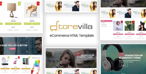 StoreVilla - Multipurpose eCommerce Template - Shopping Retail