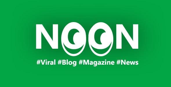 Noon - Crisply Made Ad Friendly WordPress Magazine Theme - News / Editorial Blog / Magazine