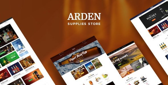 Ves Arden Magento 2.2.0 Template With Pages Builder - Magento eCommerce