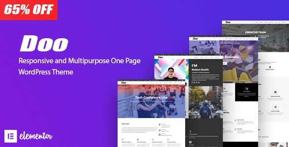 Doo - One Page Responsive - Business Corporate