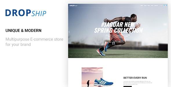 Dropship - Multipurpose Responsive Ecommerce Html Template - Shopping Retail