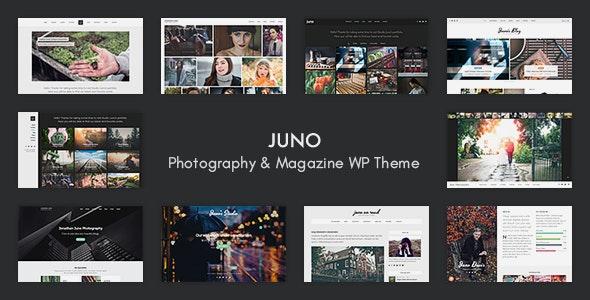 Juno – Photography & Magazine WP Theme - Photography Creative