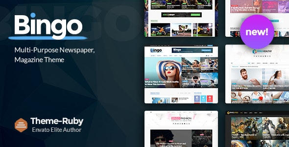 Bingo - Multi-Purpose Newspaper & Magazine Theme - News / Editorial Blog / Magazine