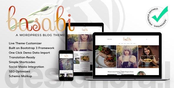 Basabi - Blog WordPress Theme - Blog / Magazine WordPress