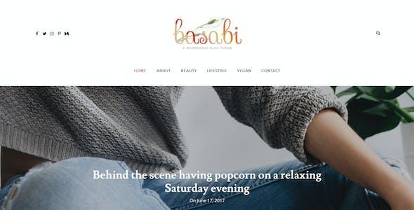Basabi - Blog WordPress Theme