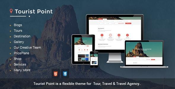 TouristPoint travel & Advisor html template - Travel Retail