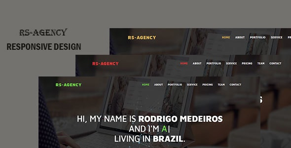 RS-AGENCY Landing Page HTML Template - Site Templates