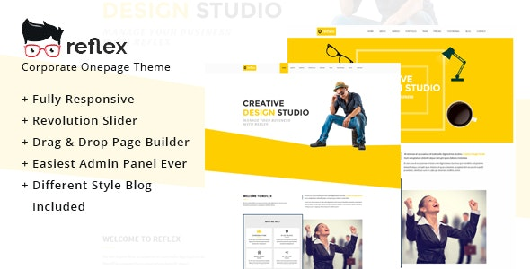 One Page - OnePage WordPress - Business Corporate
