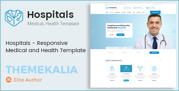 Hospitals - Responsive Medical and Health Template