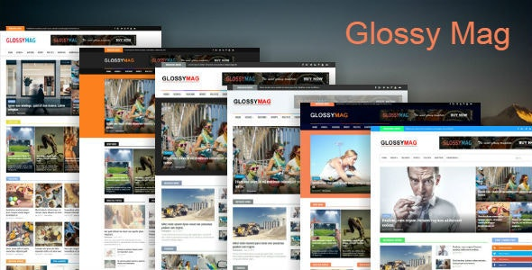 Glossy Mag - News & Magazine Blogger Theme - Blogger Blogging