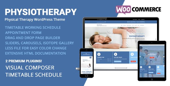 Physiotherapy - Physical Therapy WordPress Theme