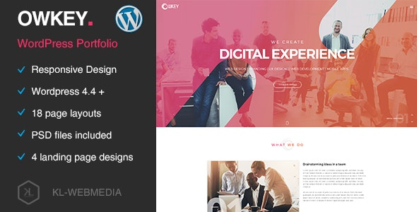 Owkey - Multi-Concept WordPress Theme - Portfolio Creative