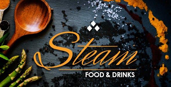 STEAM - Restaurant, Pub & Cafe WordPress Theme