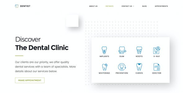Dentist WP | Dental WordPress Theme