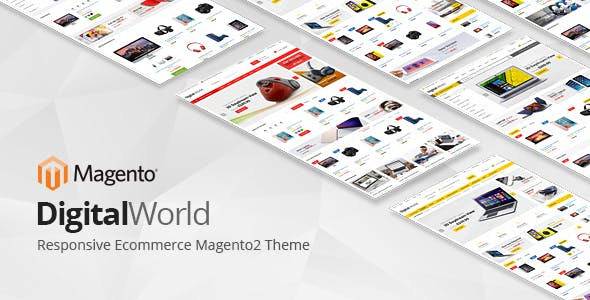 Digitalworld - Responsive Magento 2 Theme