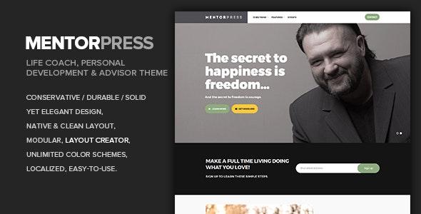 MentorPress - Life Coach & Advisor WordPress theme - Miscellaneous WordPress