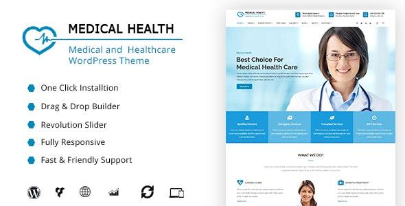 MedicalHealth - Doctor & Healthcare Clinic WordPress Theme - Health & Beauty Retail