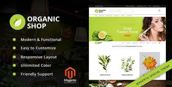 Organic Shop - Responsive Magento2 Theme - Miscellaneous Magento