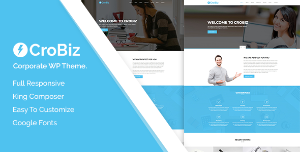 Crobiz - Corporate WordPress Theme - Business Corporate