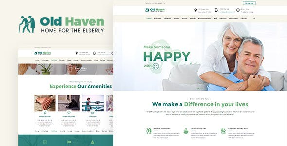 Old Haven | Theme for Old Age Home