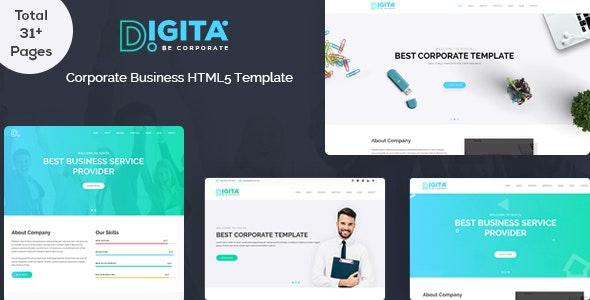 Digita Corporate Business Template - Business Corporate
