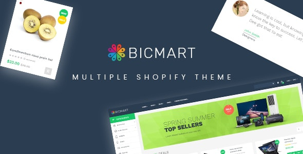 Ap Bicmart Shopify Theme for Hitech | Digital | Food | Drink - Miscellaneous Shopify