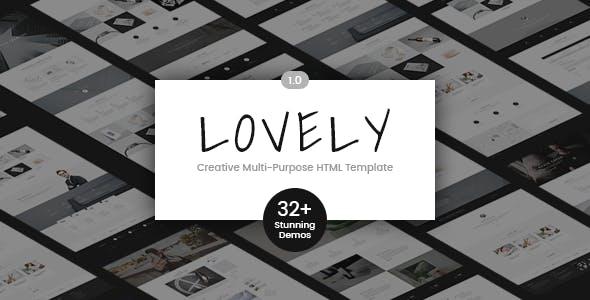 Lovely Corporate   Creative Multi-Purpose HTML Template