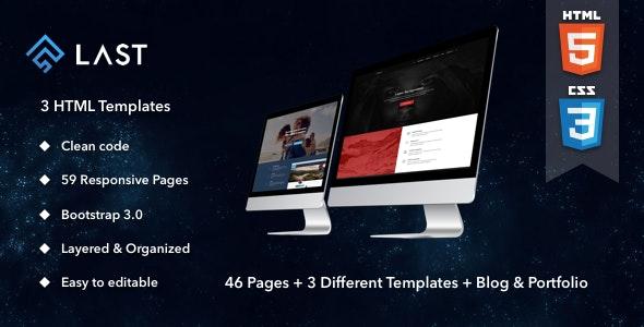 Last | HTML - Miscellaneous Site Templates