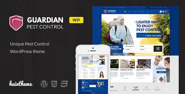 Guardian Pest Control Business WordPress Theme