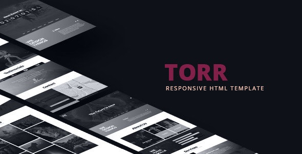 Torr - Creative One Page HTML Template - Creative Site Templates