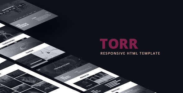 Torr - Creative One Page HTML Template