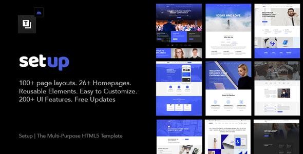 Setup - Responsive Business Html Template - Corporate Site Templates