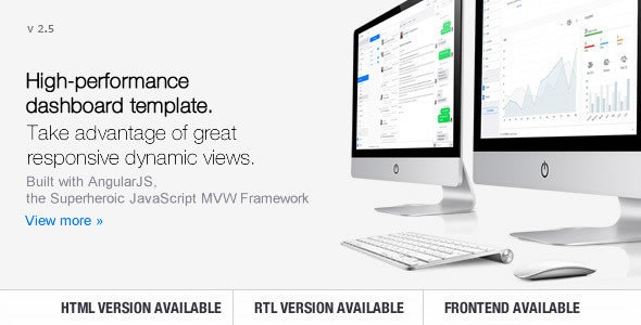 Clip-Two - Bootstrap Admin Template with AngularJS by Cliptheme