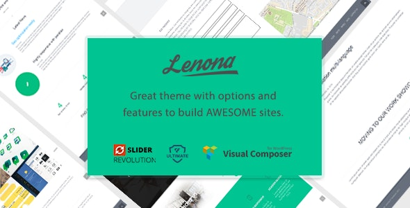 Lenona Multipurpose Business WordPress theme - Portfolio Creative
