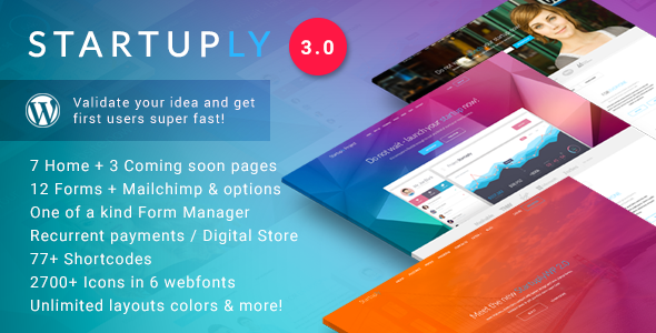 Startuply — Multi-Purpose Startup Theme