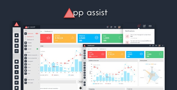 App assist - Angular 4 Bootstrap 4 LTR/RTL Admin Template by next-item