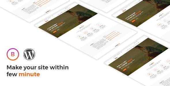 Bravery - Creative  One & Multipurpose WordPress Theme - Marketing Corporate